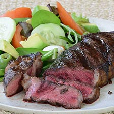 Bison NY Strip Steaks