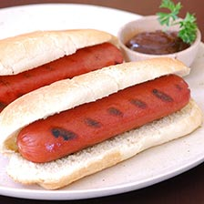 Wagyu Beef Hot Dogs, Skinless, 6 Inch