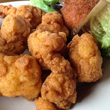 Fried Gator With Garlic Aioli Sauce Recipe