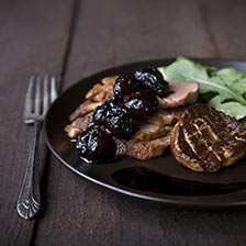 Sauted Duck Breast with Foie Gras Recipe
