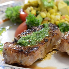 Grilled Iberico Pork with Chimichurri Recipe