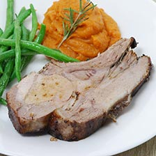 Berkshire Pork 8 Bone Loin Rack Roast