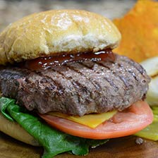 Bison and Beef Burgers
