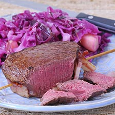 Bison Tenderloin, Whole, 5-7 lbs, Cut to Order