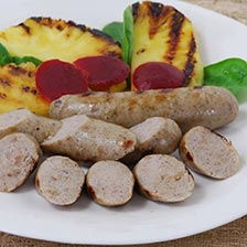 Chicken Sausage with Apple and Cranberry