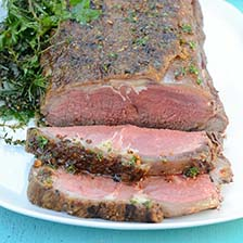 Grilled Grass Fed Boneless Ribeye Roast With Chimichurri Recipe