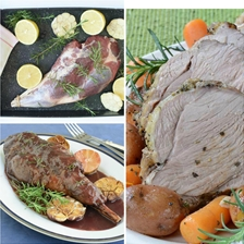 How To Roast and Carve A Leg of Lamb