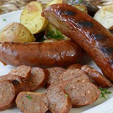 Smoked Venison Sausages