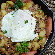 Wagyu Corned Beef Hash Recipe