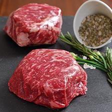 Wagyu Rib Eye Filet Steaks, MS6