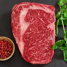 Wagyu Rib Eye, MS8, Whole, Cut To Order
