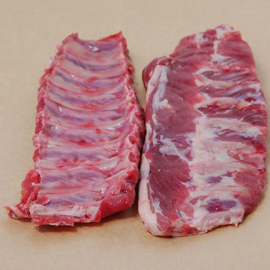 Wild Boar Baby Back Ribs | Steaks & Game