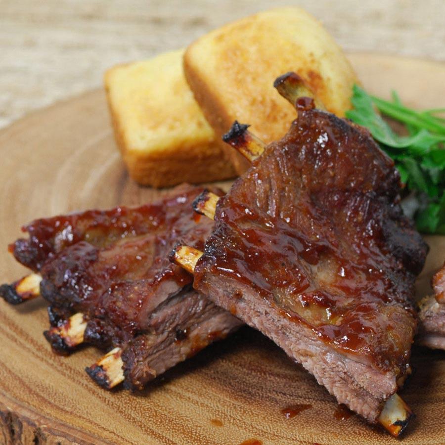 Wild Boar St. Louis Ribs | Steaks & Game