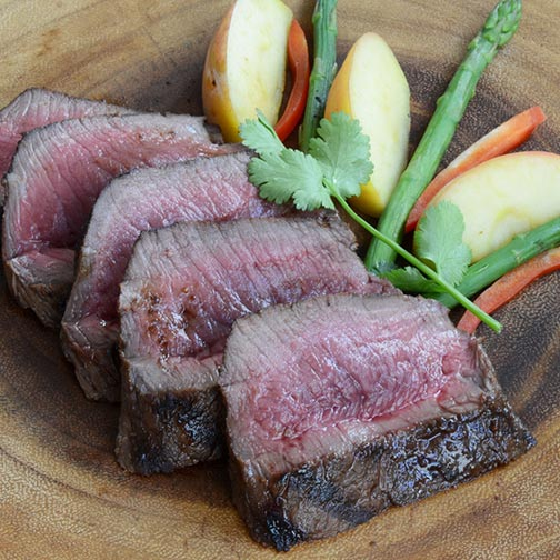 Cervena Elk NY Strip Loin, Denuded