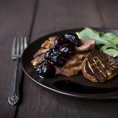 Sauted Duck Breast with Foie Gras Recipe | Steaks and Game