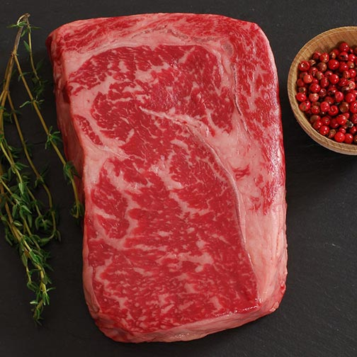 Wagyu Rib Eye, MS7, Whole, Cut To Order